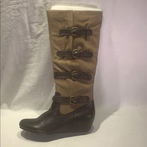 Crown Vintage •Clover• Tall Leather Boot